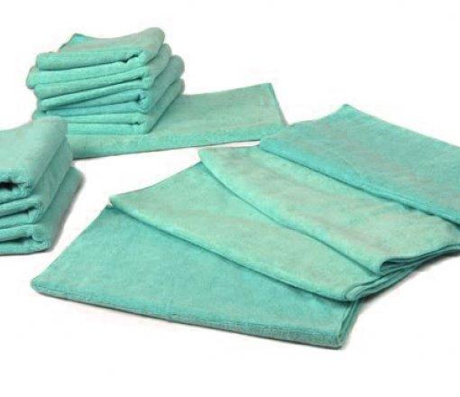 Yeşil antibakteriyel ve çeşitli ebatlarda hazırlanabilen ameliyathane örtüleri.