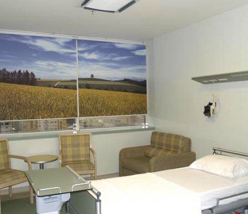 Hastanelerinizi ayrıcalıklı bir dizaynda dekore etmek için tercih edilen görsellerle hasta rehabilitesini düşünerek üretilen digital baskı stor perdeler.<br /> Ayrıca yoğun bakım ayırım perdeleri,teleskopik bağlantı rayları ile dikey perde,jaluzi ve screen perde uygulamaları da yapılmaktadır.